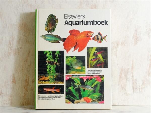 オランダ語 アクアリウムの本 鑑賞魚 水草 図鑑 百科事典 全書 洋書 ディスプレイ 古書
