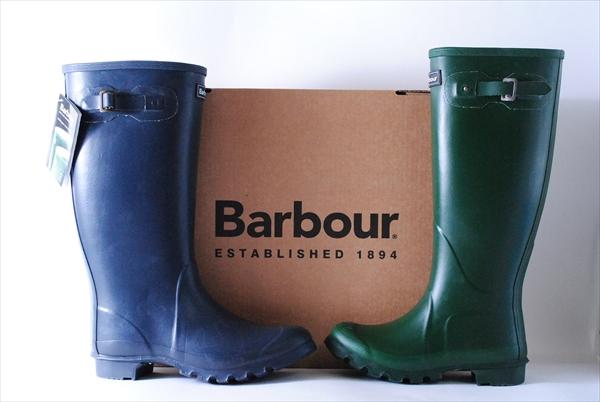 新品 BARBOUR TOWN&COUNTRY WELLINGTON BOOTS バーブァー バブアー レインブーツ